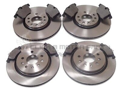 SAAB 9-3 93 VECTOR SPORT 1.9 TiD 2.2 1.8T FRONT BRAKE DISCS /& PADS CHECK SIZE