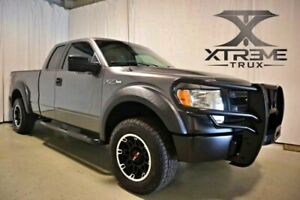 Textured 09-14 Ford F150 Rugged OE Style Fender Flares No Drill