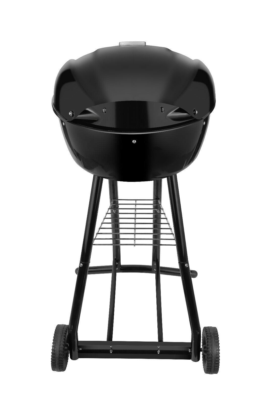 Kugel grill BBQ Holzkohlegrill Montenegro Activa Grillfläche 50cm B Ware