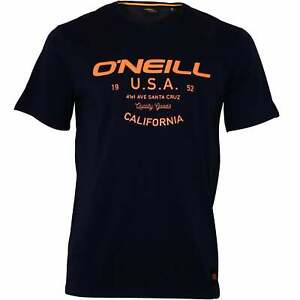 O-039-Neill-LM-Dawson-Crew-Neck-Men-039-s-T-Shirt-Ink-Blue