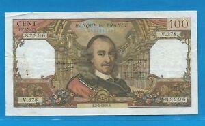 100 Francs Corneille Du 2-1-1969 V.378 D3vrz5qm-08001634-878207141