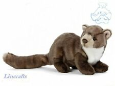 Pine Marten Plush Soft Toy by Living Nature. 25cm AN407