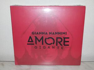 CD-GIANNA-NANNINI-AMORE-GIGANTE-ROSSO-NUOVO-NEW