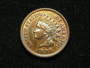 SEMI-ANNUAL-SALE-BU-UNC-1898-INDIAN-HEAD-CENT-PENNY-w-FULL-LIBERTY-35q