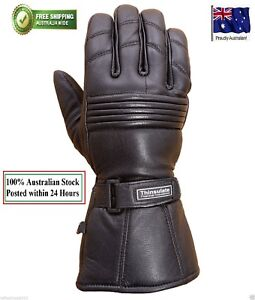 Motorcycle-Winter-Gloves-Biker-Rider-Touring-Warm-Motorbike-LEATHER-GLOVES