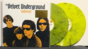 VELVET-UNDERGROUND-039-Collected-039-Ltd-Edition-180g-BANANA-YELLOW-Vinyl-2LP-NEW