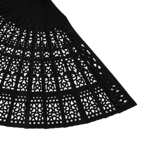 Dekofächer Handfächer Taschenfächer für Hand Fans aus Holz