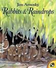 Rabbits and Raindrops by Jim Arnosky (Paperback / softback)