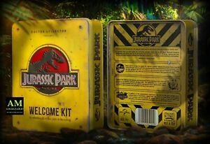 Jurassic Park-Welcome Kit Tin Box-Collectors Deluxe Kit-scatola regalo-NUOVO