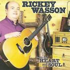 From the Heart and Soul * by Rickey Wasson (CD, Aug-2008, Rural Rhythm)