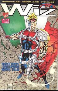 WIZ n° 6 - Ediz.Limitata - Ed. Marvel Italia - 1996