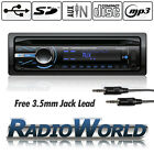 Carsio Car Stereo Headunit Radio CD Player MP3 USB SD AUX FM iPod iPhone 4x50W