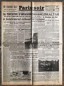 N10-La-Une-Du-Journal-Paris-Soir-21-Aout-1942