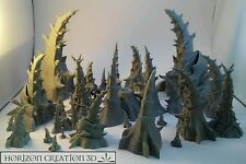 HC3D - Bio Terrain Master Set 29 Pieces  - Wargames Alien Scenery