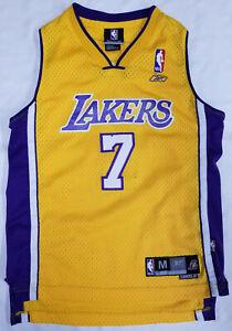 Lamar Odom Los Angeles Lakers jersey youth sz M (10-12) Reebok NBA ...