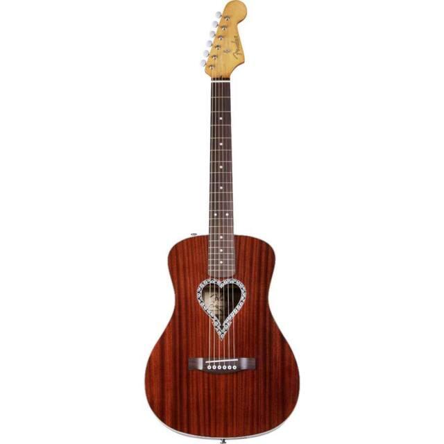 Fender Alkaline Trio Malibu Mahogany | Acoustic Guitar
