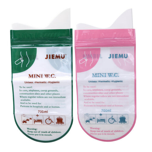Child Disposable Portable Urinal Travel Training Toilet Emergency Urine Bag 6A