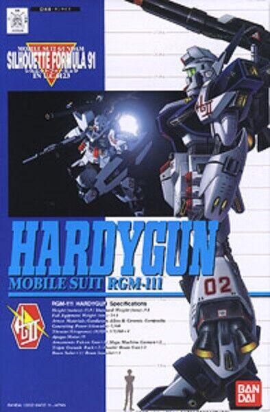 1 100 Hardigan (Mobile Suit Gundam F91) Plastic Model Gunpla From Japan