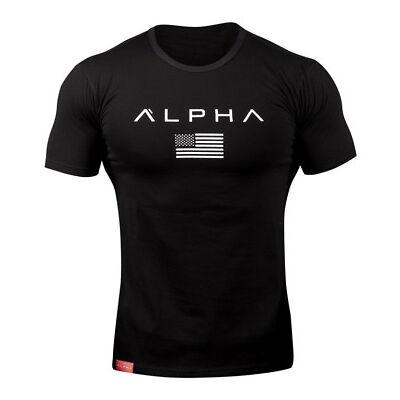 Men's Gym Muscular Fitness Bodybuilding Crew Neck T Shirt Sweatshirts Basic Vest