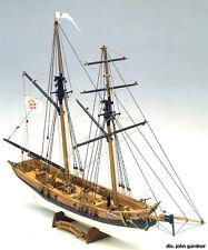 "Beautiful, Intricate Wooden Model Ship Kit by Mamoli: the ""Black Prince"""