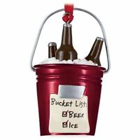 Your Bucket List Bucket Of Beer And Ice Ornament By Hallmark 3 Beers On Ice