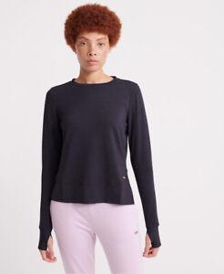 Superdry-Damen-Active-Studio-Luxe-Rundhals-Sweatshirt