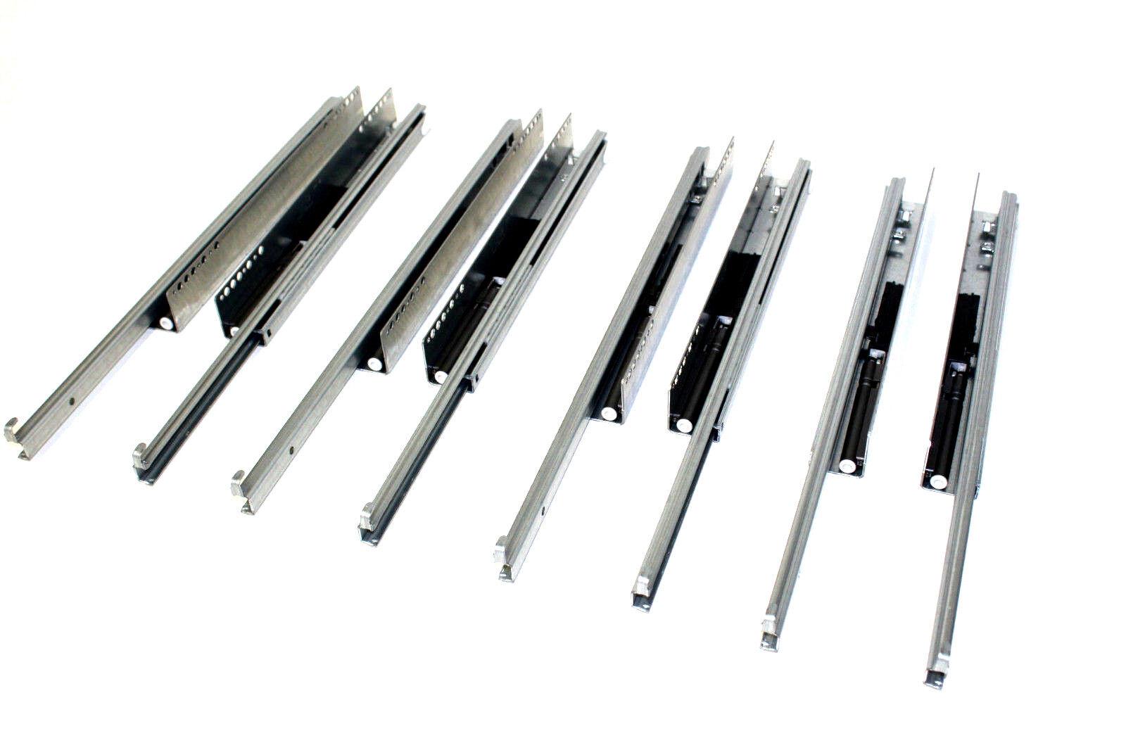 4 REME Auszüge Teilauszug Vollauszüge Schubkastenführung Schubladenauszüge 450mm