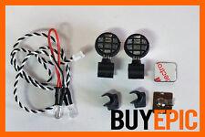 Scale Crawler 1:10 LED FANALI AGGIUNTIVI 1, ideale per assiale, TAMIYA, NUOVO