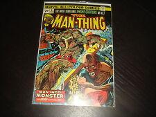 MAN-THING  #8  Mike Ploog  Marvel Comics 1974 FN+