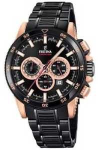 2a570bc60c7 New Festina Special Edition 2018 Chrono Bike PVD Plated F20354 1 ...