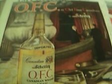 news item picture 1958 advert o f c schenley canadian whiskey