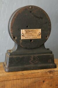 vintage-Game-well-Fire-Alarm-Telegraph-Ticker-tape-reel-cast-iron-parts-repair