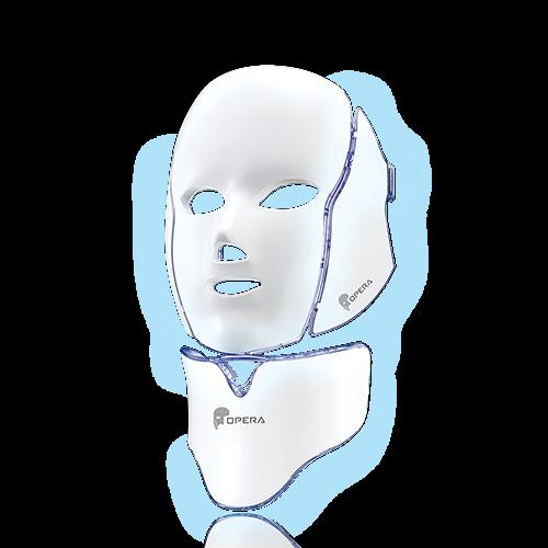 OPERA LED Mask Face, Neck Mask Galvanic Spectrum LED Mask Self Skin Care Device