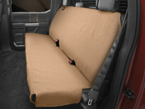 Stupendous Details About Weathertech Medium Highback Bench Seat Protector For Trucks Cars Suvs In Tan Ibusinesslaw Wood Chair Design Ideas Ibusinesslaworg