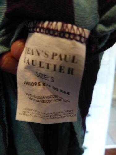 perfette S 36 Blu E In condizioni Viola Jean Paul 38 Top Raye Gaultier Taglia SZ474x