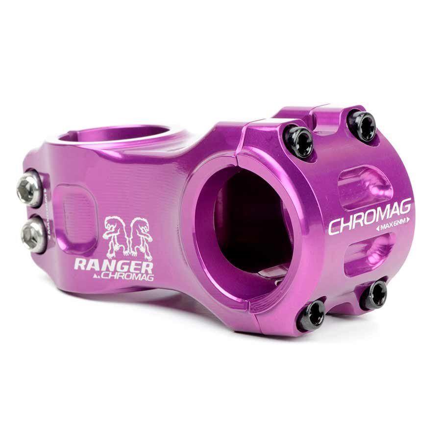 Chromag Ranger V2 Stem 1-1 8'' L  50mm 0 Dia  31.8mm Purple