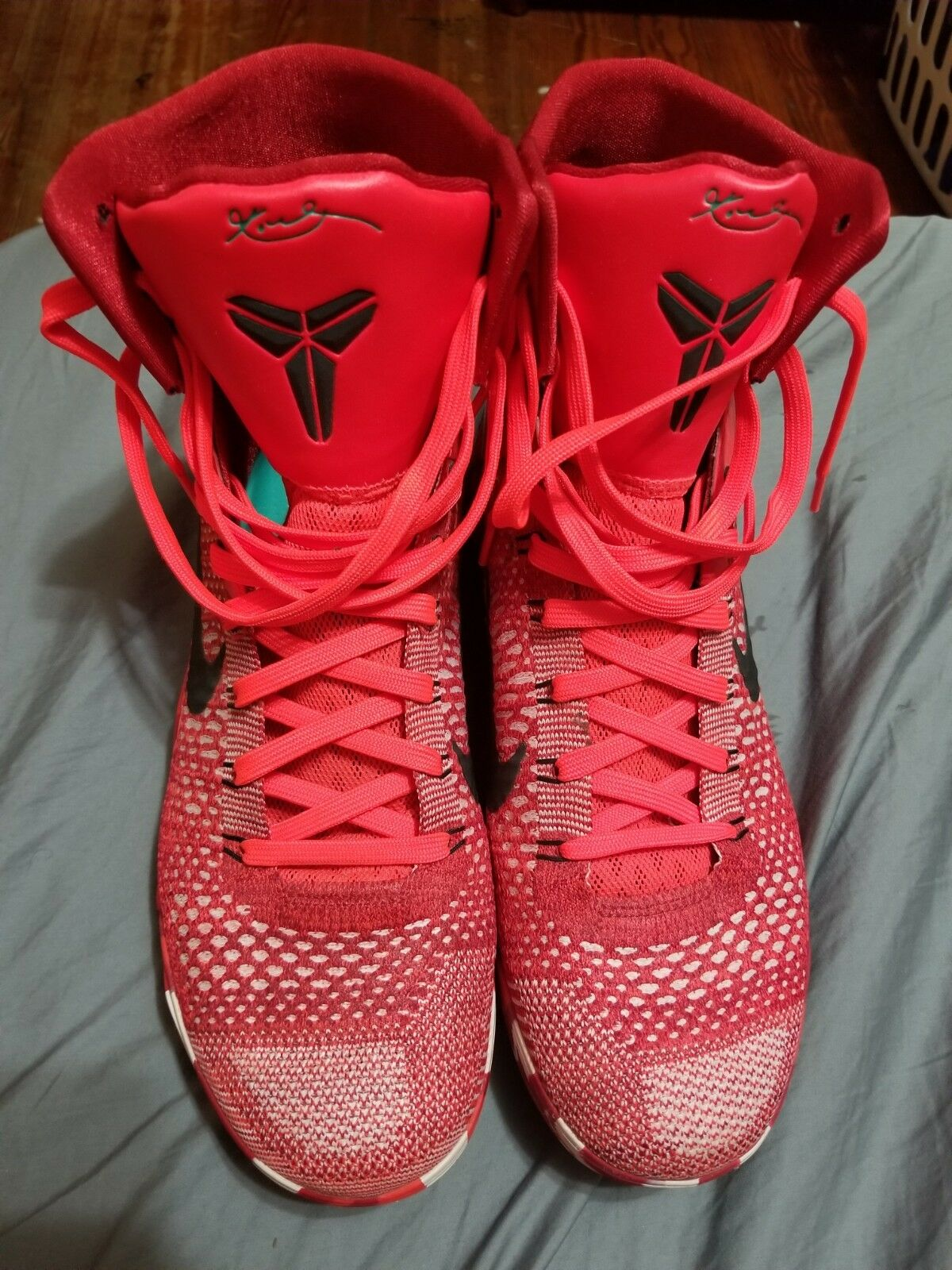 Nike Kobe 9 IX Elite Christmas Mens Size 10.5 630847-600 Worn once. No box.