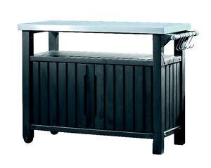 Keter-Beistelltisch-Grilltisch-2-tuerig-graphit-123x54x90cm