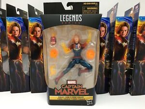 Lot-of-9-Action-Figures-Legends-Series-CAPTAIN-MARVEL-Binary-Form-NEW-Sealed