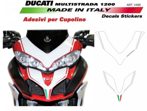 Adesivi per Ducati Multistrada 1200 anno 2015//2017 Bianco