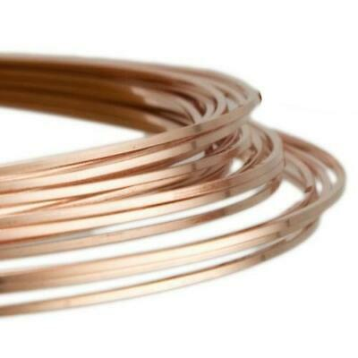 1.5mm Copper Craft Wire Unplated 1.75m Coil Accessory Jewellery Making Crafts