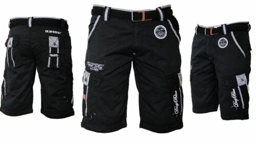 uomo Pantaloncini Bermuda del corta geografici da Lunghezza ginocchio corti cargo 4rBZOqEfxr
