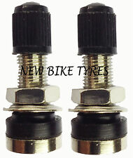 TUBELESS MOUNTAIN BIKE SCHRADER TYRE VALVE BICYCLE X2 MOTORBIKE SCOOTER DUST CAP