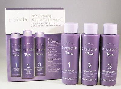 Trissola TRUE Keratin Treatment Trial Kit