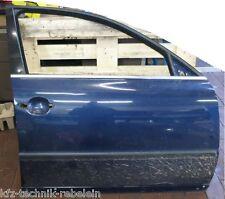 VW Passat 3BG Tür Türe vorn rechts Beifahrerseite Beifahrer LB5N blau vorne VR