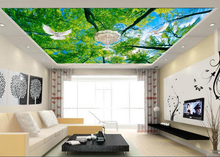 3D Verde Bosque Bosque Bosque Sky 894 Pared Papel Pared Calcomanía Pared Deco AJ Papel Tapiz De Impresión Verano be24bc