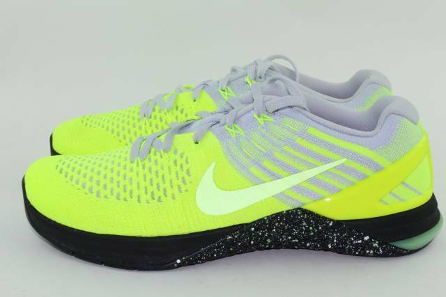 quality design 20b0c 299bd Nike Metcon DSX Flyknit Sz 8 Training Train Shoes Volt 852930-701 for sale  online   eBay