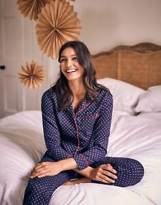 Joules Womens Caitlin Pyjama Set - NAVY STAR