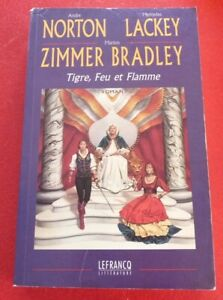 Soft-Cover-French-Book-Tigre-Feu-et-Flamme-Norton-Lackey-Zimmer-Bradley