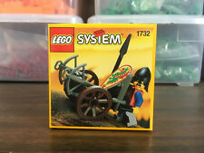 RARE NEW IN BOX - Vintage Lego Set 1732 Castle Dragon Knights Crossbow Cart